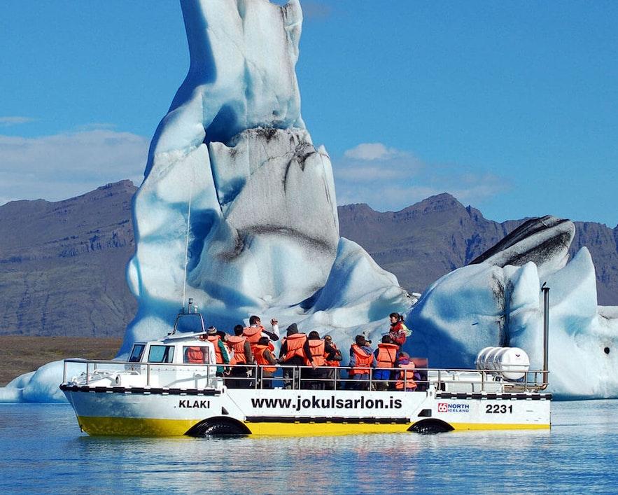 冰島當地冰河湖船遊項目