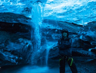 Ice Cave - Inside the largest glacier in Europe