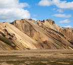 Grænagil Canyon rests by the feet of amazing Icelandic Highland mountains.