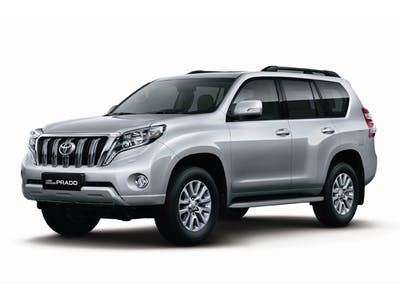Toyota Land Cruiser 4WD 7-Seater Automatic 2016