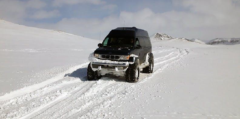 Borgarfjörður & Ice cave on Langjökull glacier | Private Super Jeep Tour