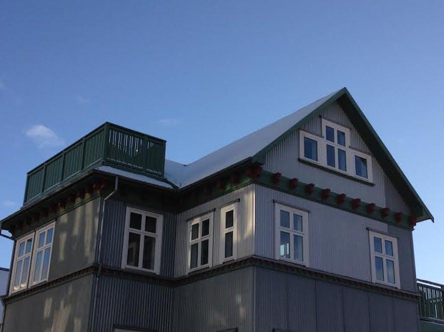 Beautiful old architecture in Reykjavík city centre
