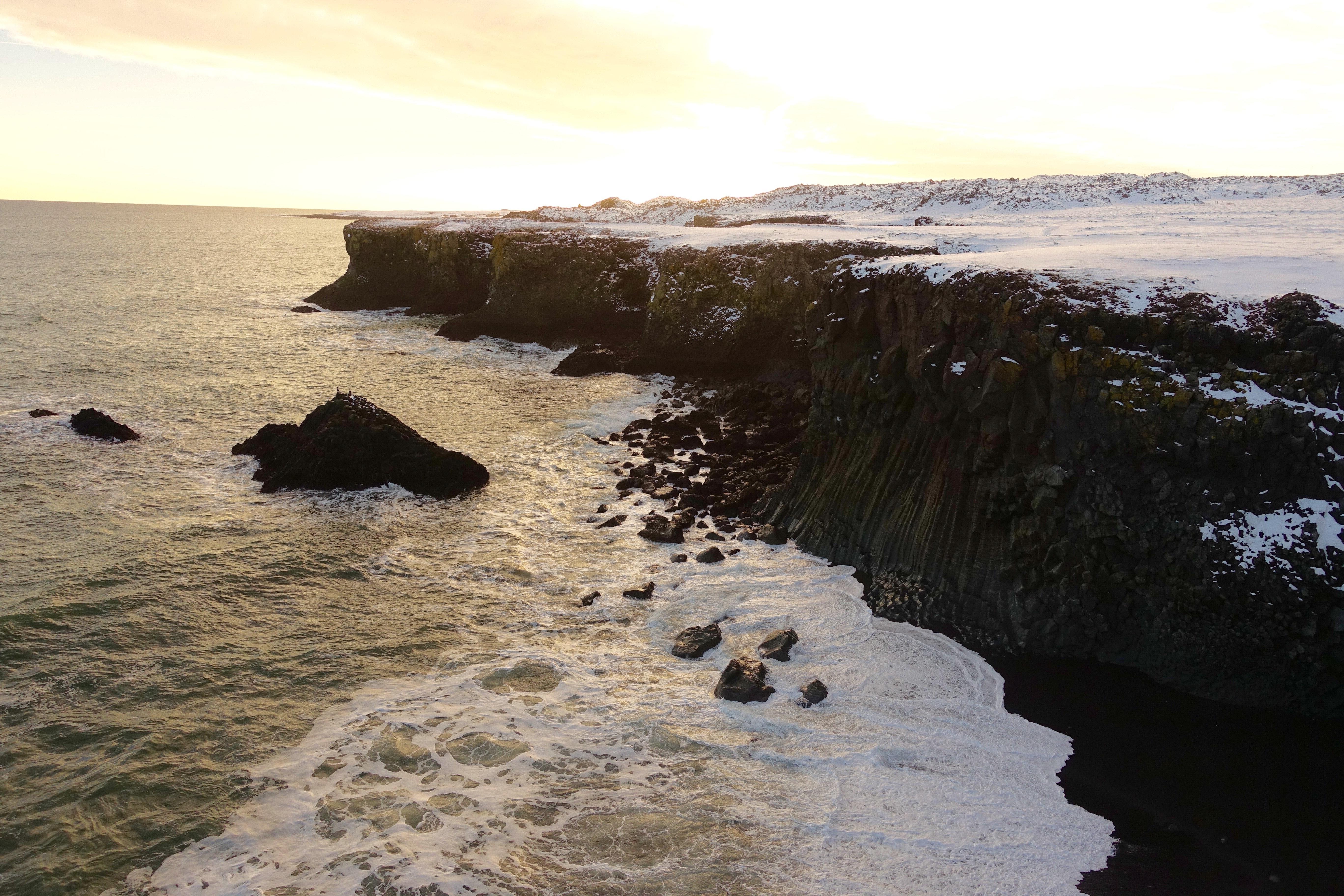斯奈山半岛海崖