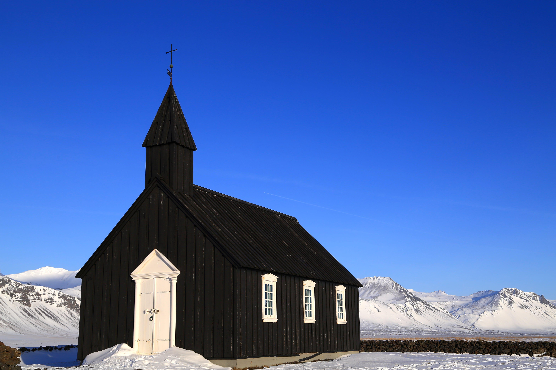 斯奈山半岛Búðir黑教堂