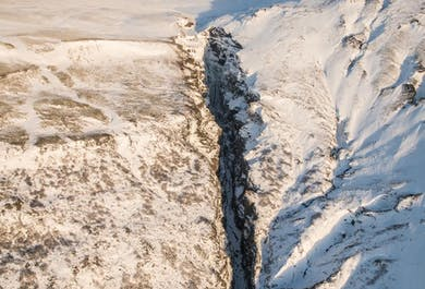 Helicopter Flight-Seeing with Landing on Langjökull.