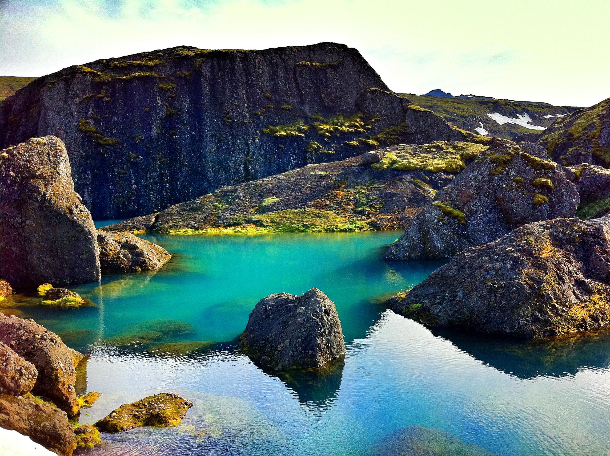 Stórurð是一条在Borgarfjörður eystri镇附近著名的徒步路线