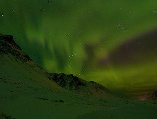 Northern Lights Hunting in the Wilds Near Akureyri