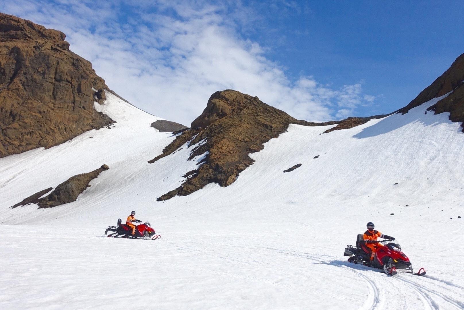 冰岛雪地摩托车项目