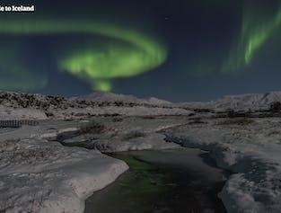 La aurora boreal en autobús
