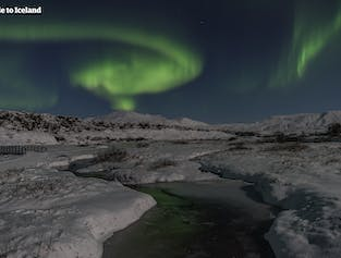 The Northern Lights by Bus