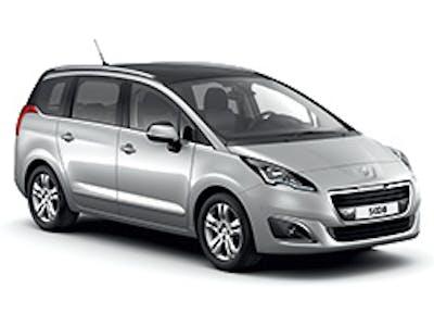 Peugeot 5008 boîte automatique 2017