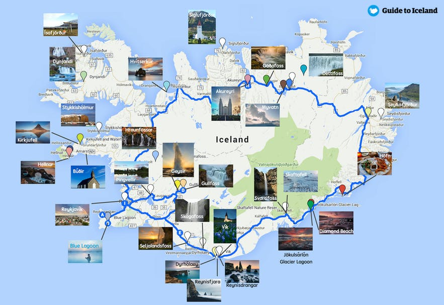 見どころ満載のアイスランド