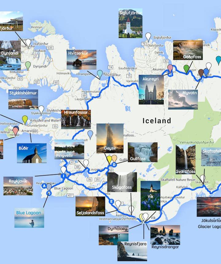 Beste bezienswaardigheden langs IJslands ringweg