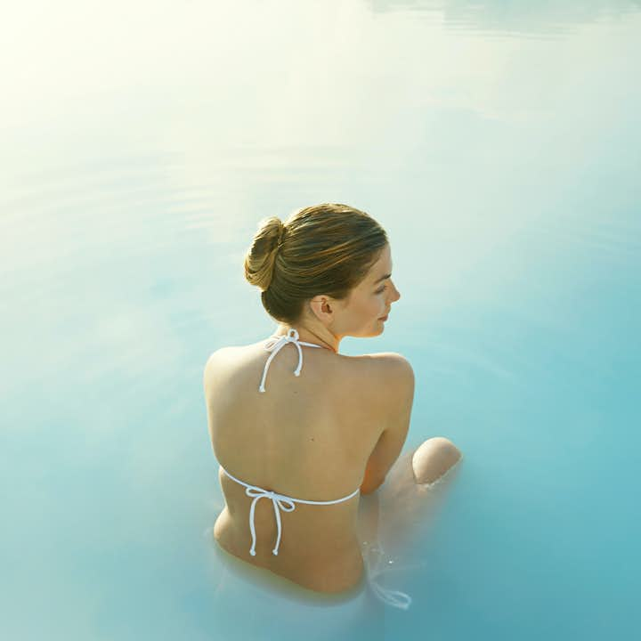 The Blue Lagoon Spa is at the heart of Iceland's volcanic Reykjanes peninsula.