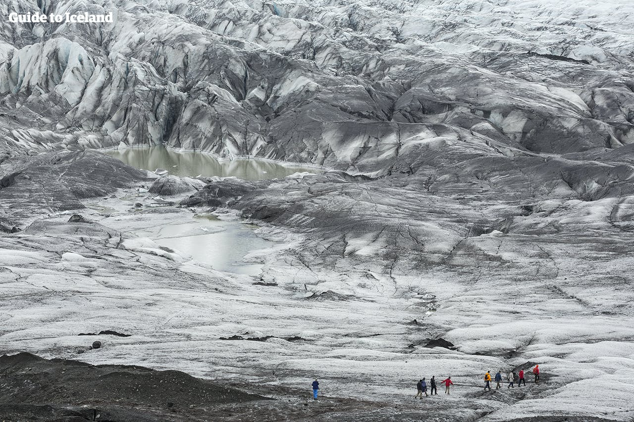 4 Days of Outdoor Fun   The Golden Circle, South Coast, Snowmobile & Glacier Hiking