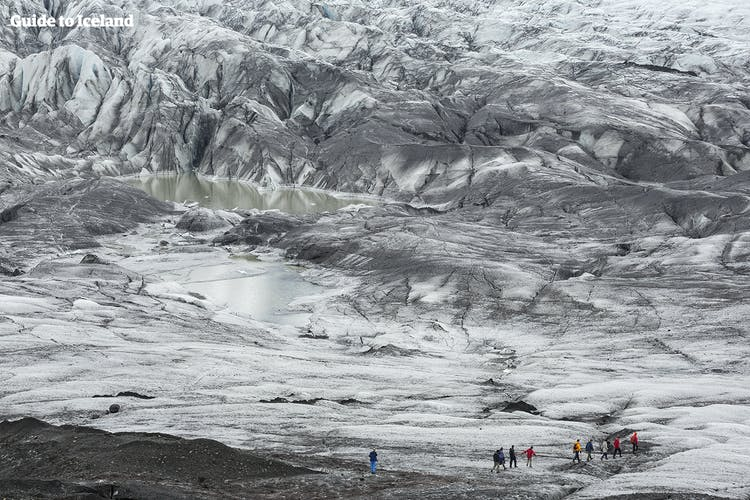 A hike on Sólheimajökull glacier is sure to leave memories to last a lifetime.