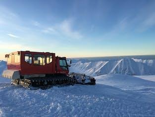 Snowcat Skiing on Múlakolla Mountain