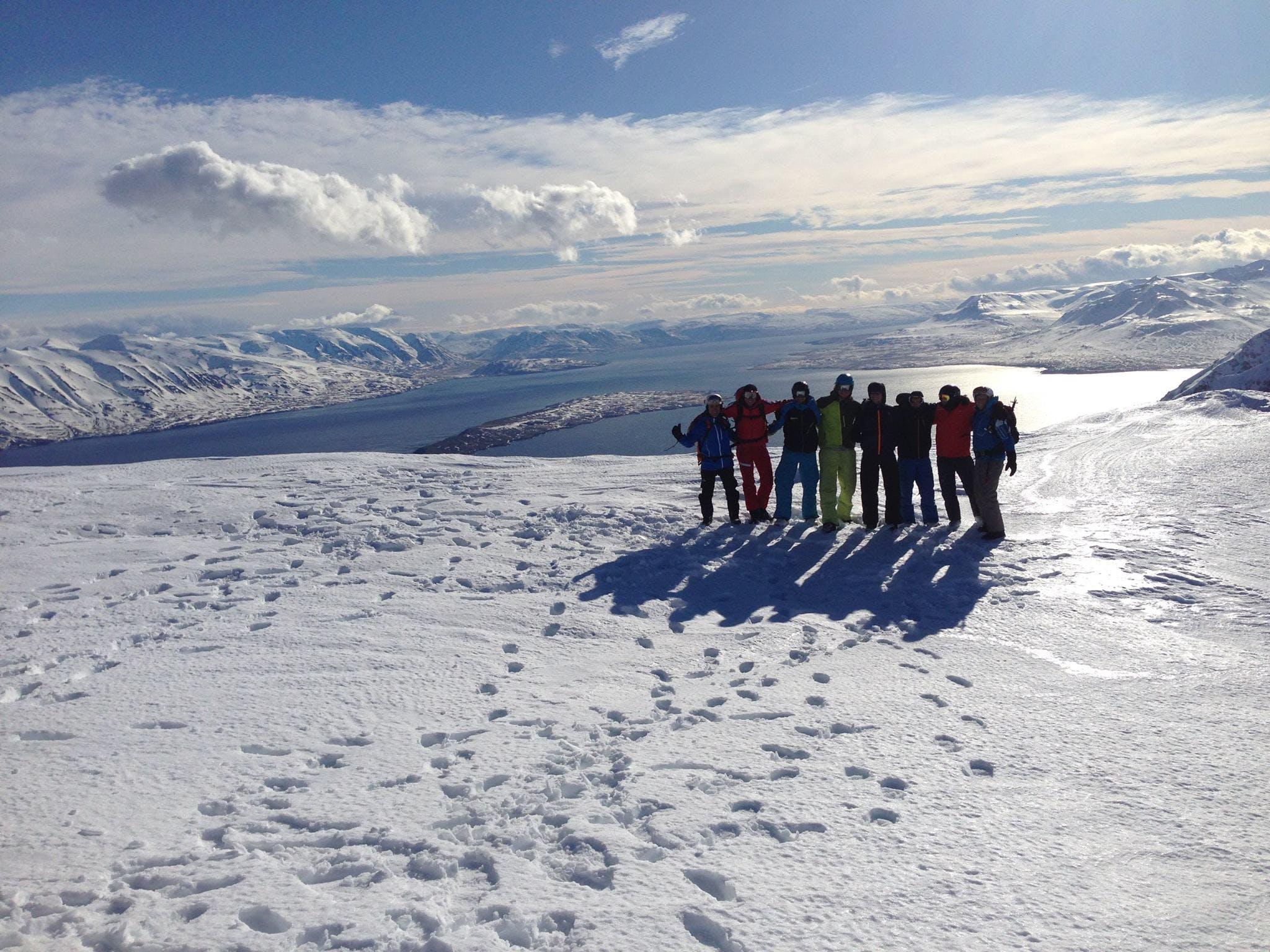 Snowcat Sightseeing on Múlakolla Mountain