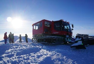 Snowcat Sightseeing on Mulakolla Mountain
