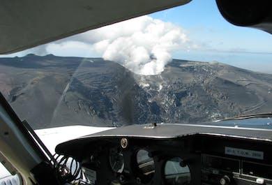 Malerischer Rundflug   Vulkane, südliches Hochland & große Gletscher