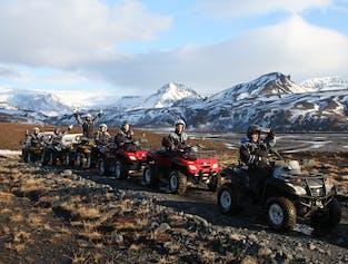 Mountains and Rivers ATV Tour | Þríhyrningur Mountain & Fiská River