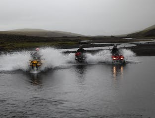 ATV Tour | Markarfljotsgljufur Canyon & Landmannalaugar Valley