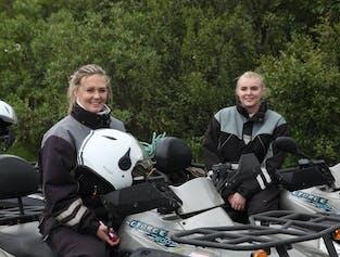 ATV Riding through Þórsmörk Valley