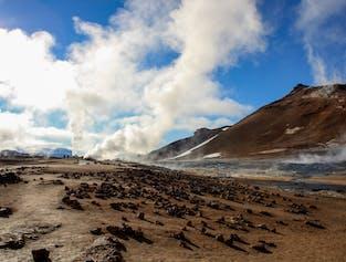 Tagestour zum See Mývatn   mit Flug ab Reykjavík