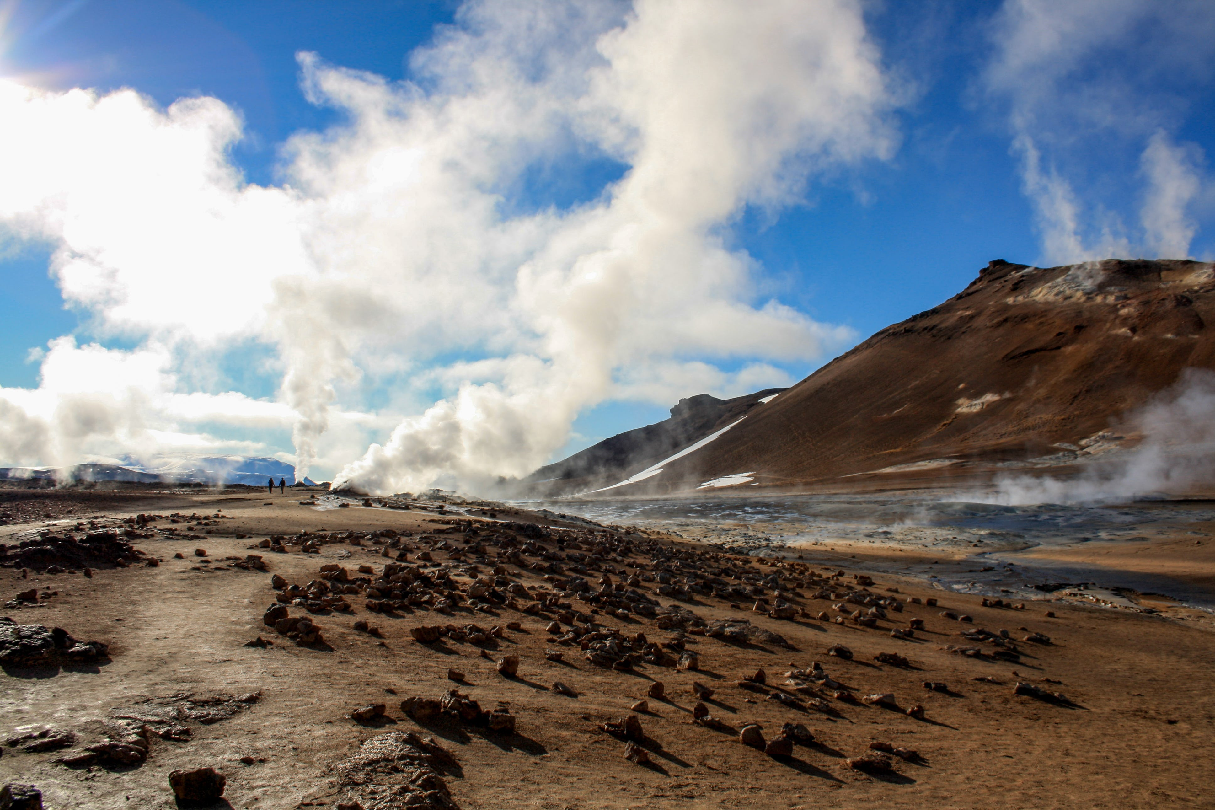 The Námaskarð geothermal area looks like it comes from another planet.