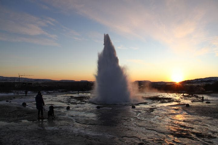 Personal oriented Golden Circle & Blue Lagoon from Reykjavik