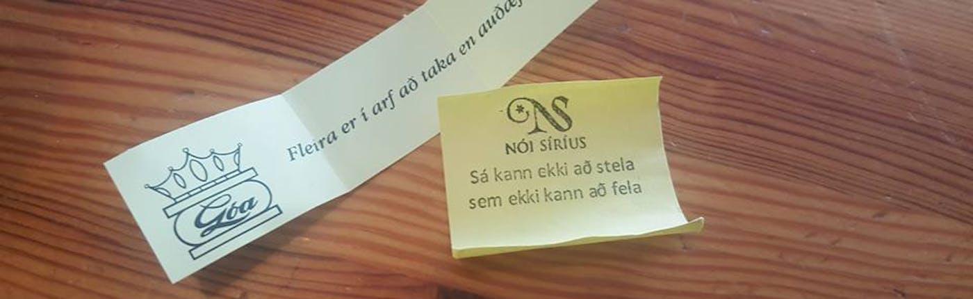 Sigmundur Davíð's Easter eggs