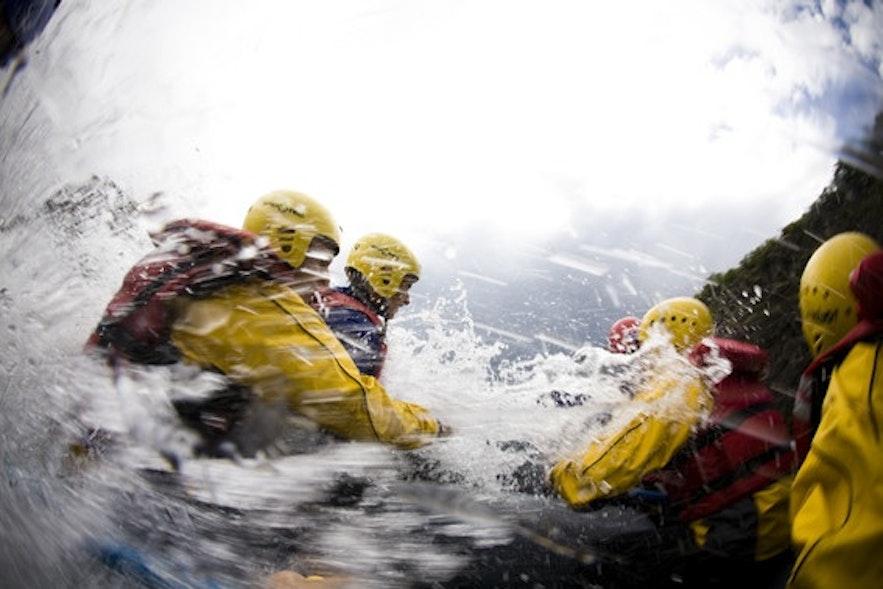rafting islande