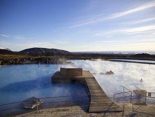 Biking and Hot Spring Bathing in Myvatn
