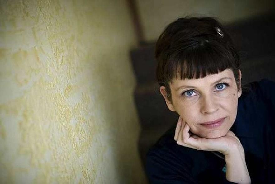 冰岛海盗党女性领导Birgitta Jonsdottir