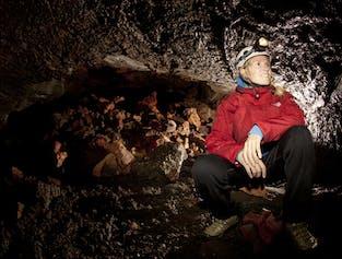 Horseback Riding & Leiðarendi Lava Cave Tour