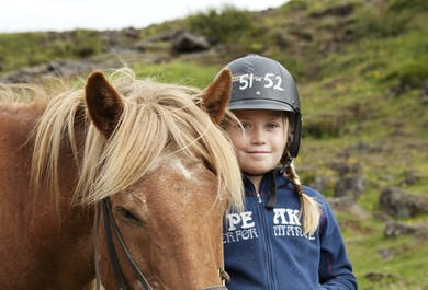 Family Horse-Riding Adventure | From Reykjavik
