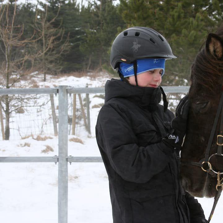 家族で楽しめるアイスランディックホース乗馬体験は年間を通して開催しています。