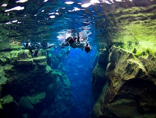 The Blue Lava Tour   Riding & Snorkeling at Silfra