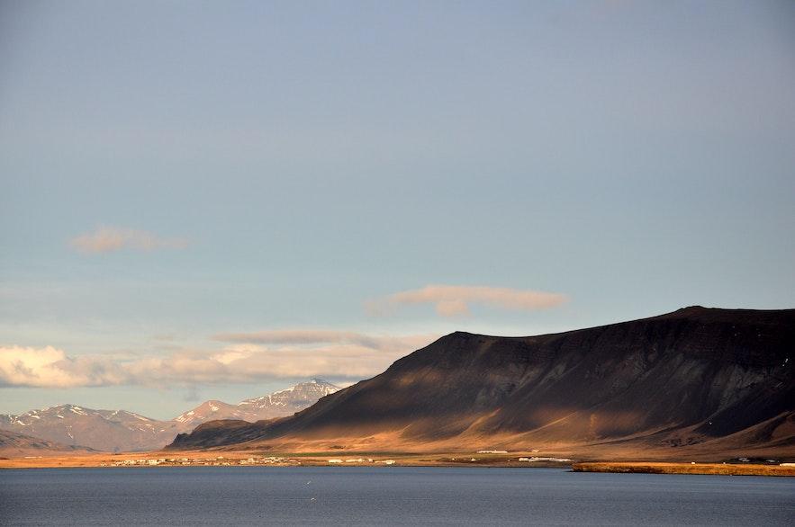mount Esja by Reykjavik Iceland