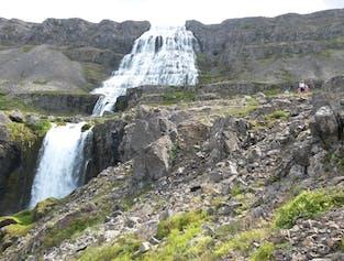 The Majestic Waterfall Dynjandi