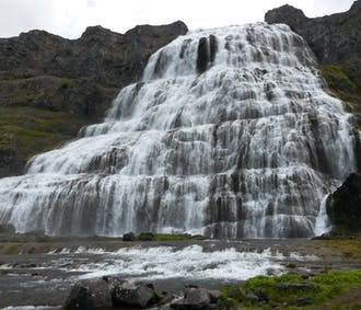 The Majestic Waterfall Dynjandi   Day Tour departing from Isafjordur