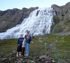 Seeing the Westfjord's Dynjandi waterfall is a fun activity for the whole family.