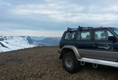 Vue sur les montagnes depuis Isafjordur