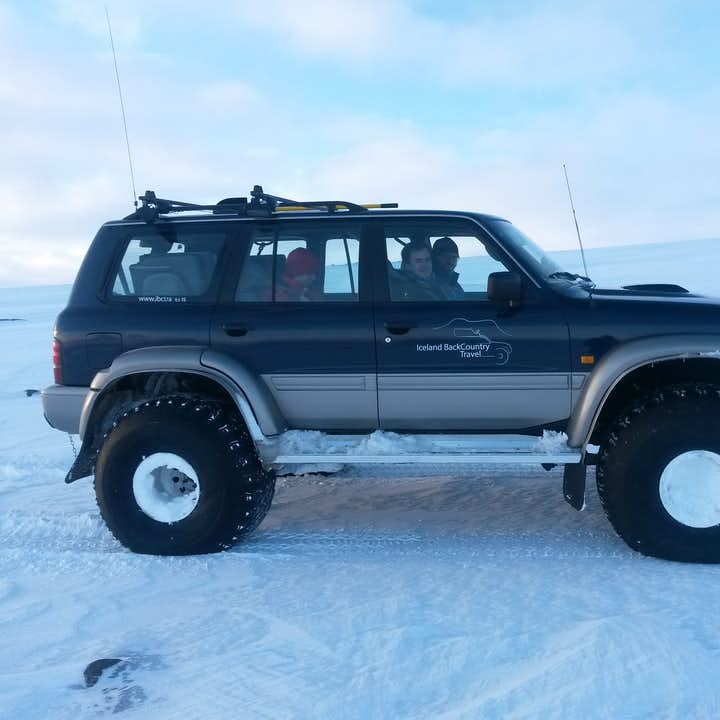 This Westfjords tour from Ísafjörður is made possible, even in winter, by a specially modified jeep.