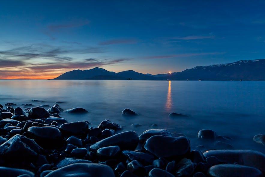 冰岛北部的Eyjafjörður峡湾,摄影Völundur Jónsson