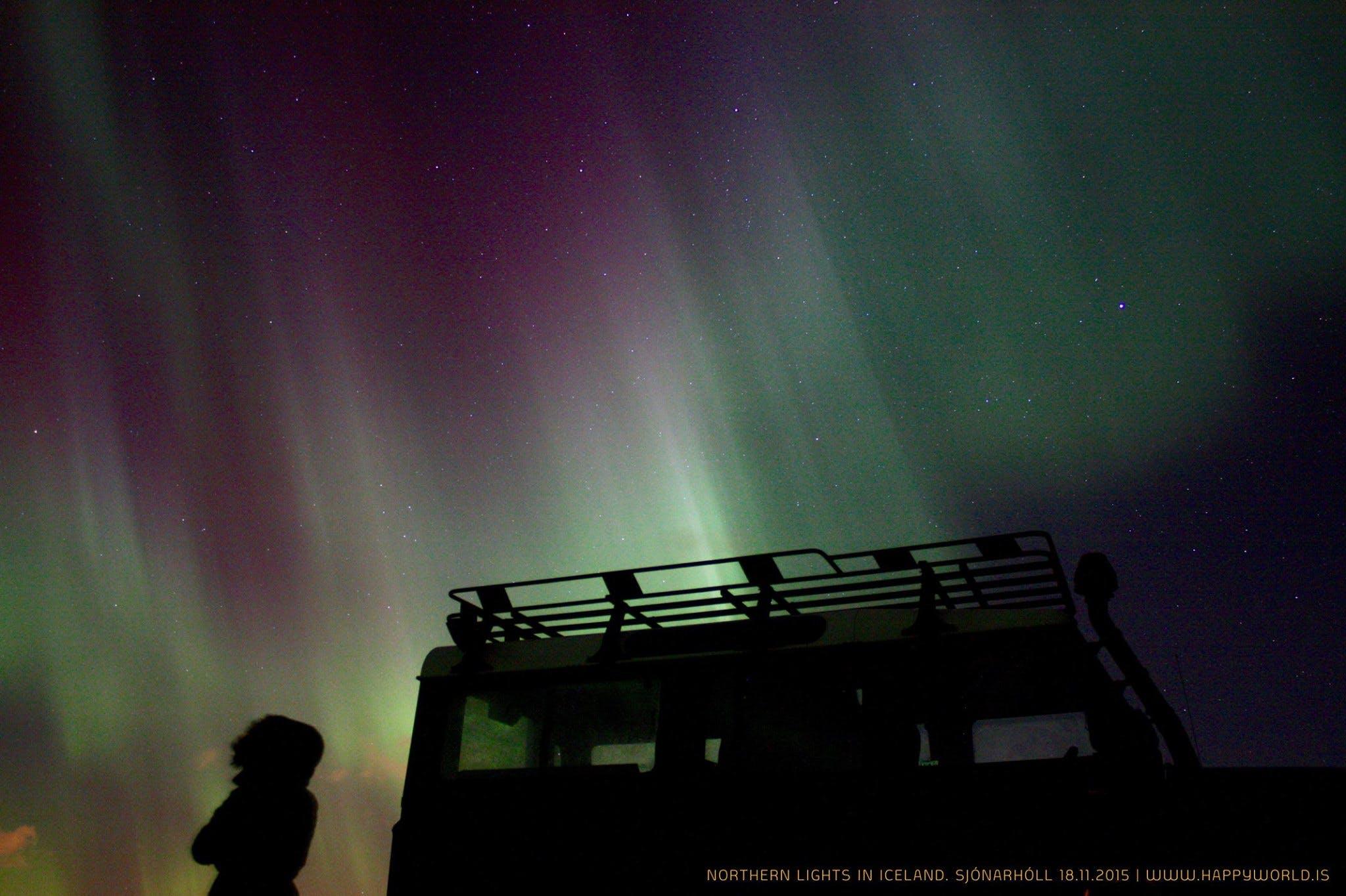 Northern Lights Hunt & Telescope Stargazing