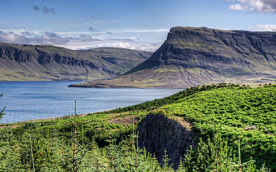 Hvalfjörður (Fjord de la baleine) en Islande