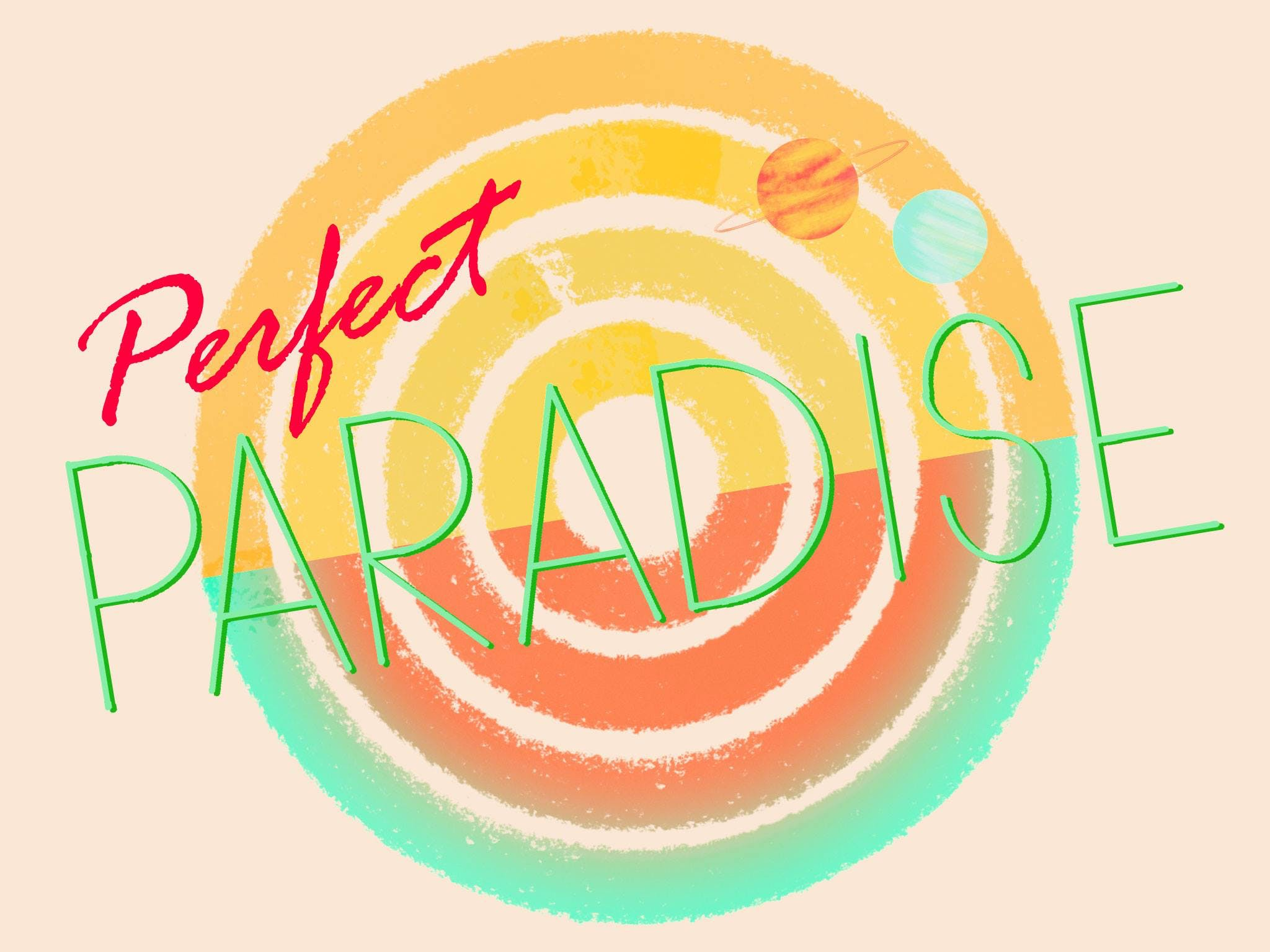 Perfect Paradise is an immersive event by Huldufugl