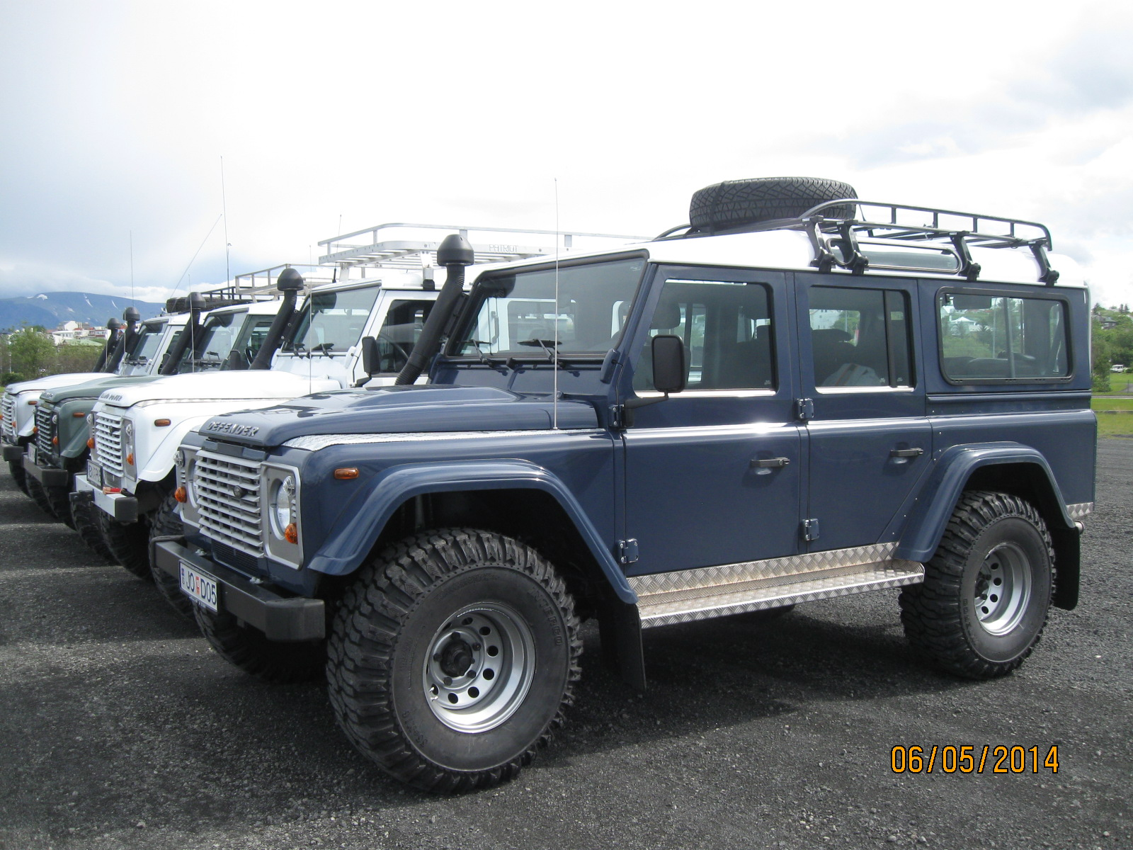 Land Rover  Defender 110 4x4 2015