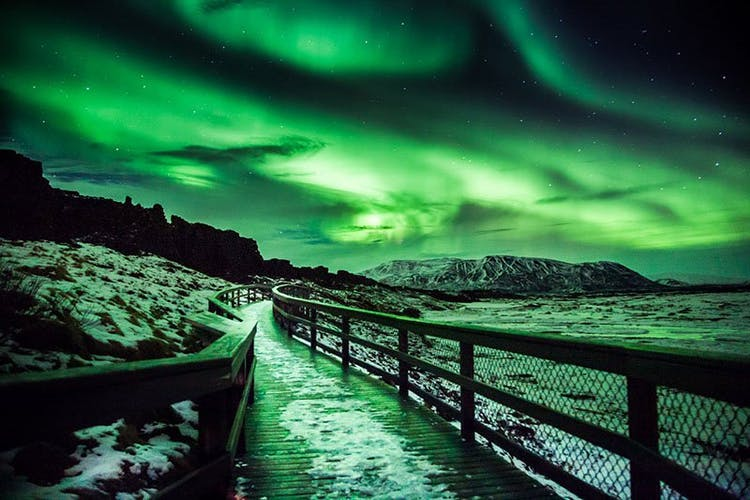 Day eight is your last chance to capture the Northern Lights dancing over south and west Iceland on this winter tour.